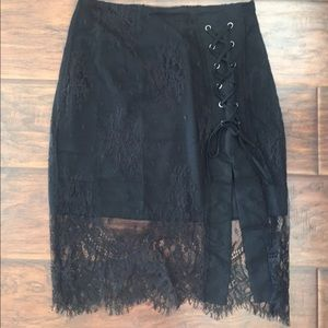 do & be Dresses & Skirts - Lace up skirt