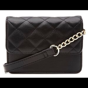 Faux Leather Quilted Fanny Pack
