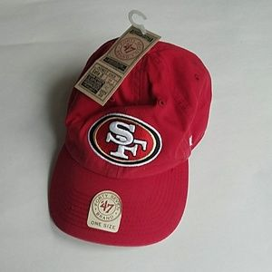 47 Other - San Francisco 49ers Adjustable Hat NWT