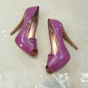 Jessica Simpson Shoes - Purple Platform Jessica Simpson Heels