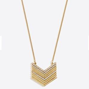 J. Crew Factory Jewelry - 🆕 J. Crew Chevron Pendant Necklace