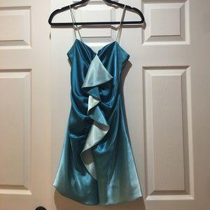 Ariella Dresses & Skirts - Ariella Teal Cocktail Dress