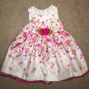 Bonnie Baby Other - Baby Girl Spring Floral Dress 12M
