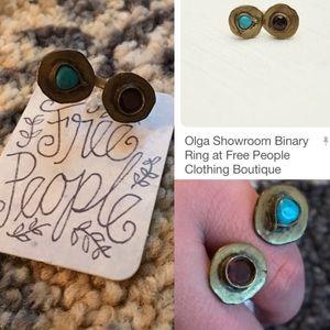 Free People Jewelry - NWT free people Olga binary ring open 7
