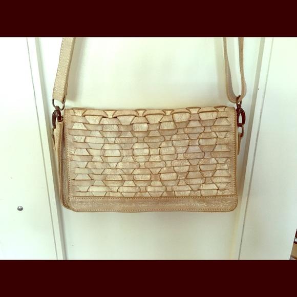 74d8c30c5ba9 Bed Stu Handbags - Beautiful Bed Stu Aruba Woven Leather Crossbody