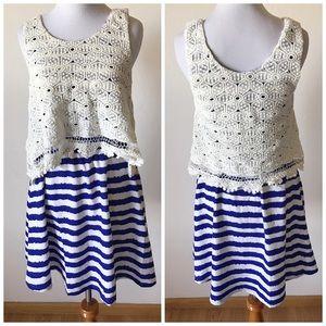 Sugarlips Dresses & Skirts - NWT Sugarlips Seaside Stripe Dress