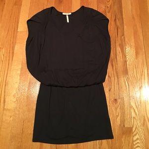 Joie soft joie black knit dress s