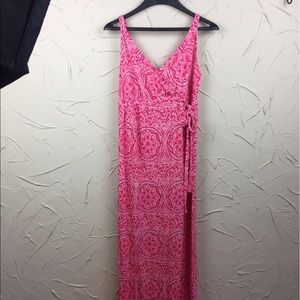 Old Navy Dresses & Skirts - Old Navy Pink Maternity Maxi Dress
