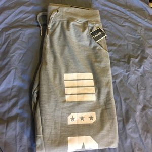 Original Retro Brand Pants - Ladies Grey Sweat pants/Work out pants NWT