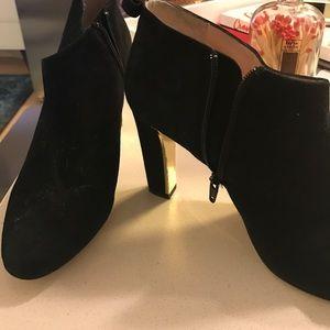 Kate spade black ankle bootie