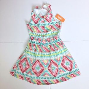 Gymboree Other - NWTs! Gymboree Bright Spring Dress with open back
