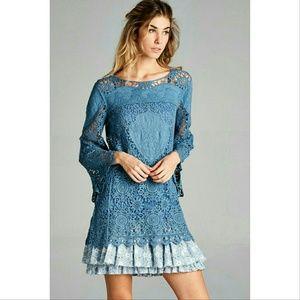 Crocheted Lace Tunic