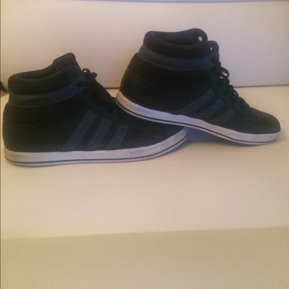 Adidas Other - ADIDAS David Beckham Rocoto Black Leather Sneakers f51a41cbe