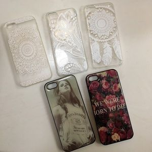 Boutique/Etsy Accessories - 💋⭐️Bundle or Individual iPhone 5S cases⭐️
