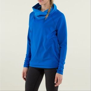 lululemon athletica Sweaters - Lululemon Healthy Heart Pullover Baroque Blue Top