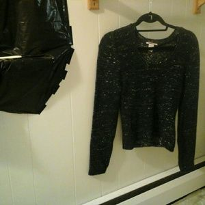 Sweaters - beautiful sweater with gold sparkles size M