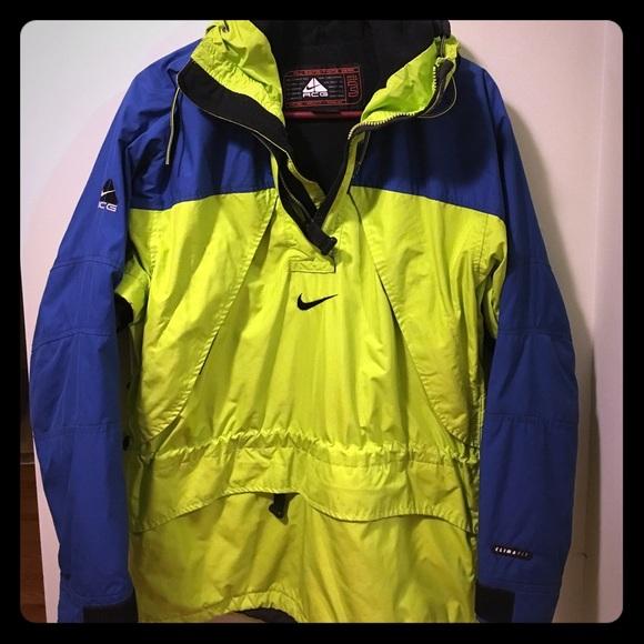 666618d43ce6 Nike ACG jacket green and blue. M 58e6eb994e95a35d5d000385