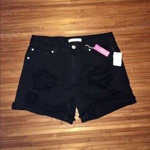 Charlotte Russe Pants - Black shorts