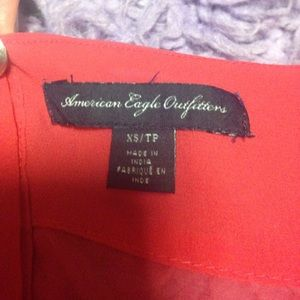 American Eagle Outfitters Tops - AE Red Blouse