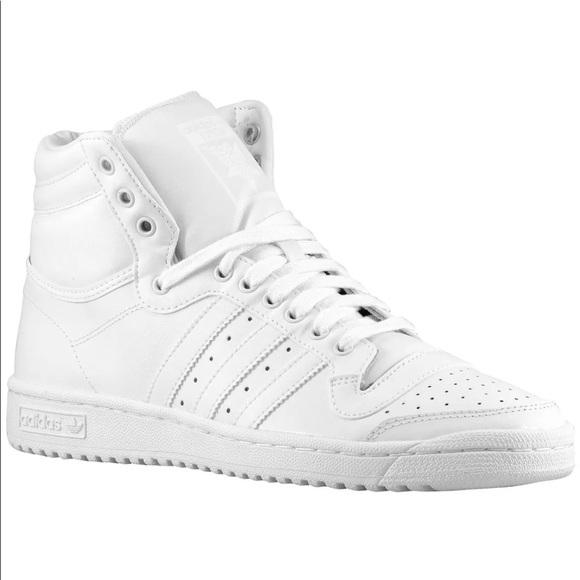 more photos 9465a cbbfd Mens Adidas Originals Top Ten Hi Retro Shoes 10.5