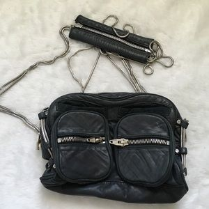 Alexander Wang Handbags - Alexander Wang Brenda Black Leather Purse