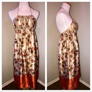 Susana Monaco Dresses & Skirts - Susana Monaco silk halter dress