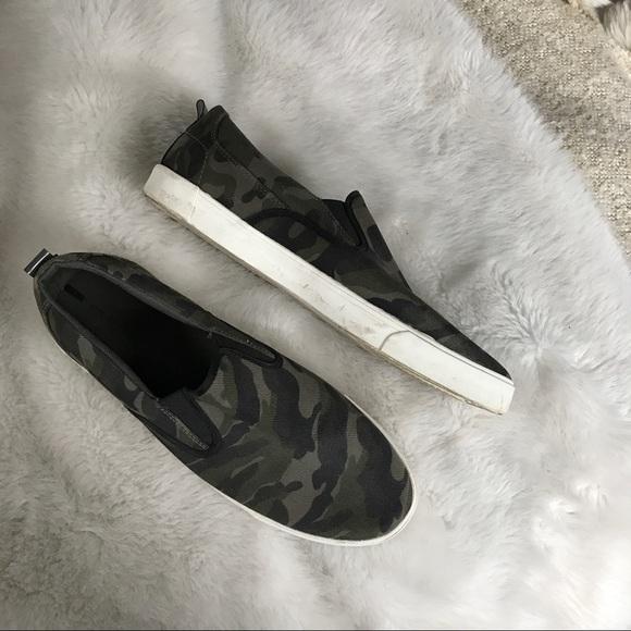 Zara Shoes | Zara Men Camo Print Slip