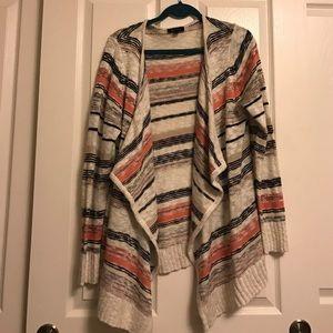 AB Studio Sweaters - Striped Cardigan