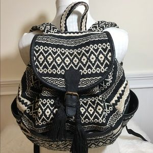 AEO American Eagle Outfitters Tribal Backpack.