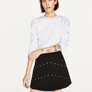 Zara Dresses & Skirts - 🆕Zara woman Gem detail Skirt