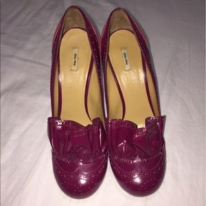 Miu Miu Shoes - MIU MIU HEELS