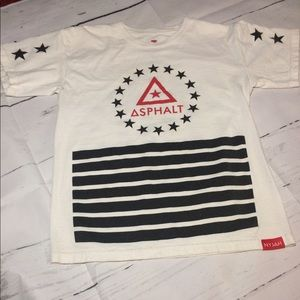 asphalt Other - Boys Asphalt tee