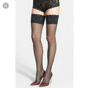 Wolford Other - Wolford Black Thigh High Tights