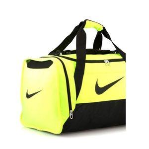 f58db4d3fd Nike Bags - New Neon Xs Nike Duffle Gym Bag