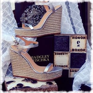 "Badgley Mischka Shoes - 🔥HOT SALE🔥Badgley Mischka ""Clea"" Sandal"