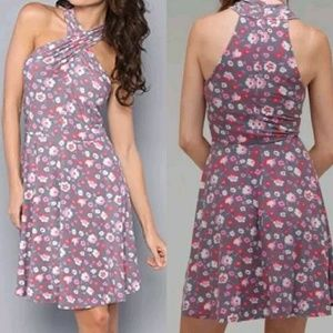Free People Dresses & Skirts - Free People Gray and Floral NWT Dress