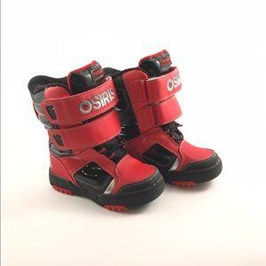 Osiris Other - OSIRIS Thermolite Kids Winter Boots Red/Black/Gray