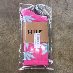 HUF Accessories - 420 Unisex Marijuana Weed Leaf Socks 🍃