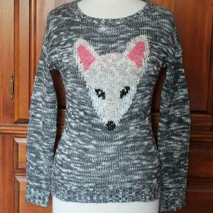 Pink Rose Sweaters - Fox Face sweater