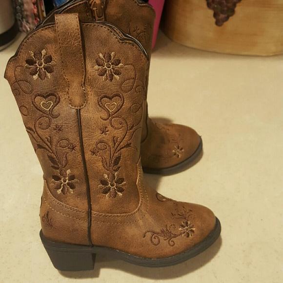 Cupcake Couture Cowboy Boots Toddler Sz