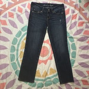 American Eagle Outfitters Denim - American Eagle Artist Cropped Jeans