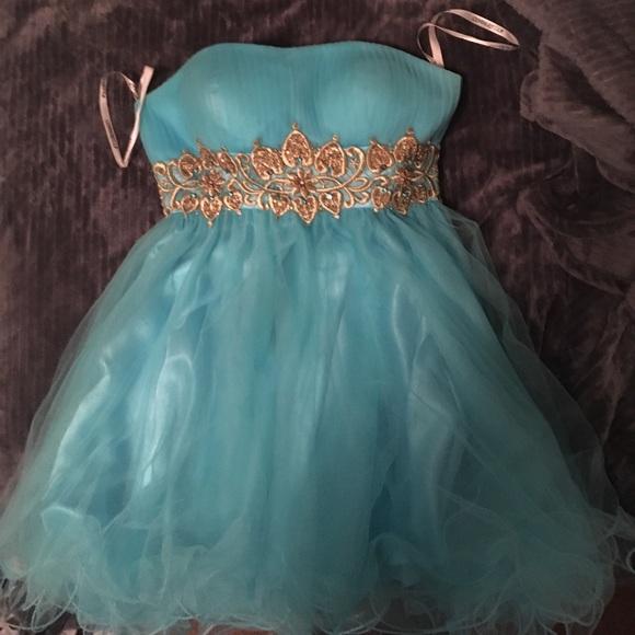 Dresses Light Blue Cinderella Formal Dress Poshmark
