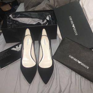 Black shoes Emporio Armani