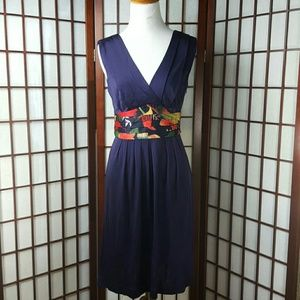 Ted Baker Dresses & Skirts - Sleeveless Pleated Empire Waist Silky Ribbon Dress