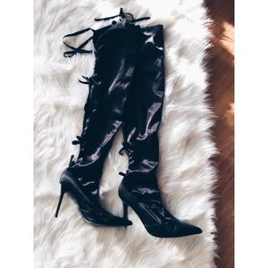 Colin Stuart Shoes - Victoria's Secret Angels Thigh Boots 9