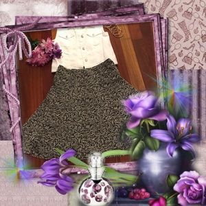 Geoffrey Beene Dresses & Skirts - Geoffrey Beene Sport Layered Skirt