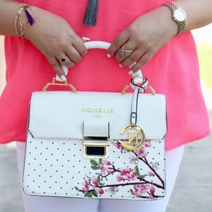 Nicole Lee Top Handle Spring Bag!