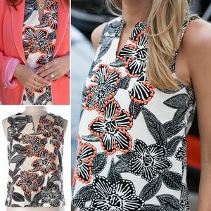 J. Crew Tops - NEW J.Crew shell embellished Polynesian floral