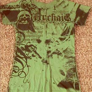 archaic Tops - BUCKLE green medium ARCHAIC tee - 🚭perfect cond.