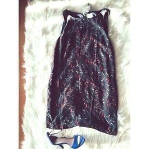 Urban Outfitters Dresses & Skirts - Kimchi Bird Print Back Cutout Shift Dress S